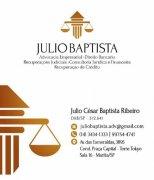Dr. Julio César Baptista Ribeiro ( Advogado )