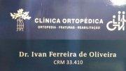 Dr. Ivan Ferreira de Oliveira ( Ortopedia - Fraturas - Reabilitação )