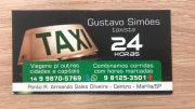 Gustavo Simões (Taxista 24 horas )