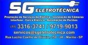 SG - Eletrotécnica - Serviços de elétrica e Segurança Eletrônica